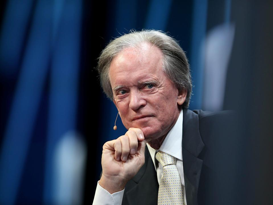 FILE PHOTO: Billionaire investor Bill Gross listens during the Milken Institute Global Conference in Beverly Hills, California, U.S., May 3, 2017. REUTERS/Lucy Nicholson/File Photo