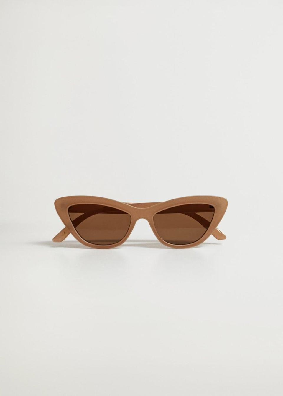 <p>These <span>Mango Cat-eye Sunglasses</span> ($30) will make you look and feel cool.</p>