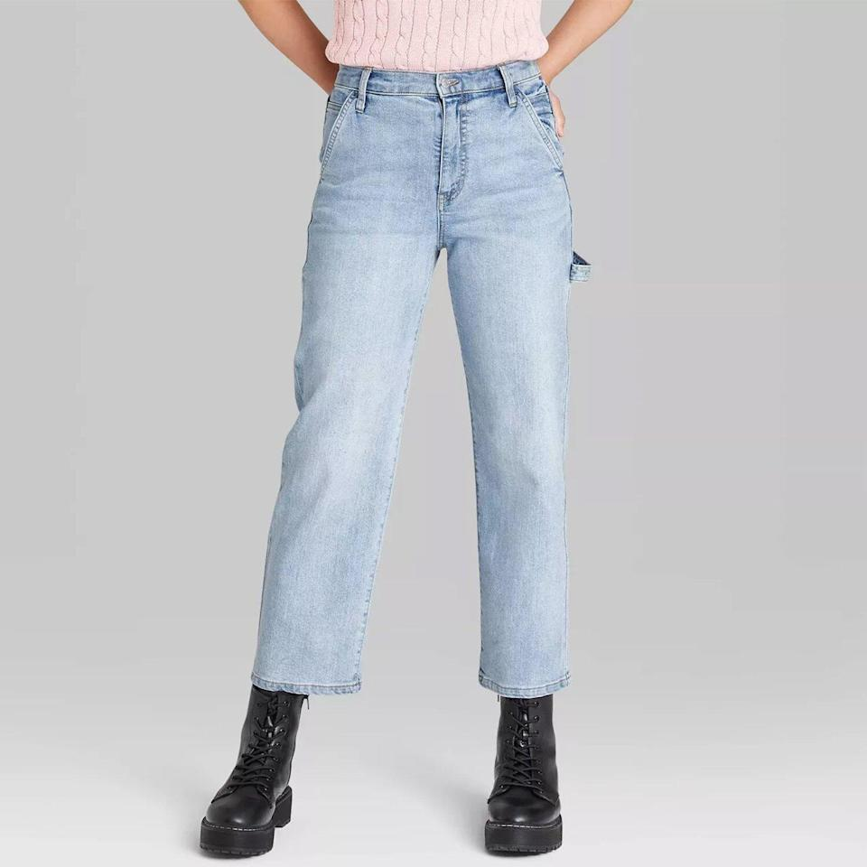 Women's Super High-Rise Utility Straight Jeans