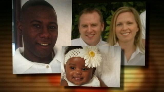 A man is battling for custody for the daughter he never knew was given up for adoption.