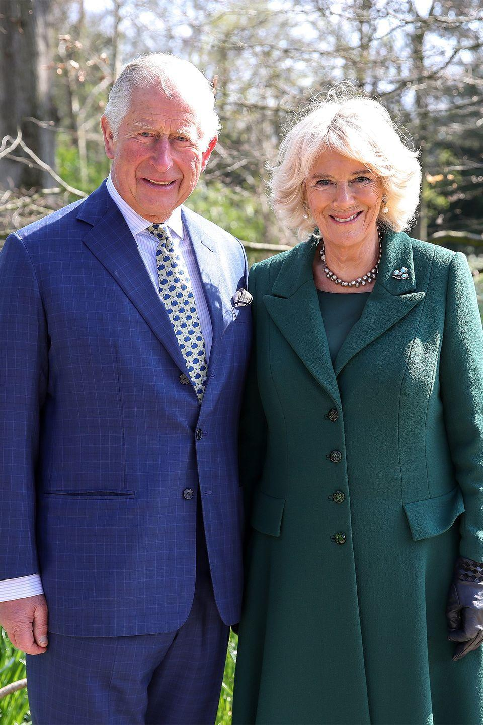 <p>Prince Charles and Camilla attend the reopening of Hillsborough Castle in Belfast, Northern Ireland.</p>