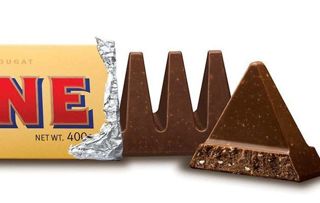 We're been breaking off Toblerone wrong our whole lives. Photo: Google Images