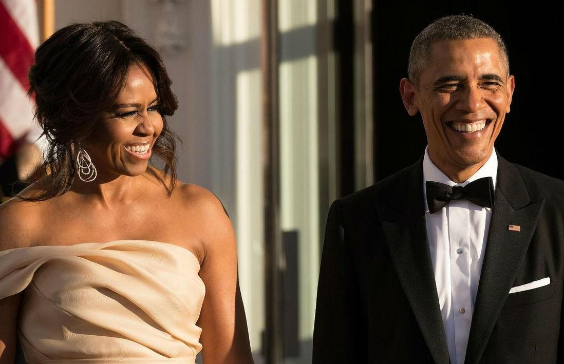<p>Los Obama en la cena de estado nórdica, en mayo de 2016. Foto de Getty. </p>
