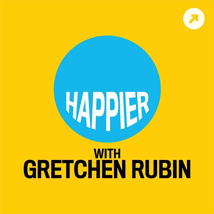 <p>In addition to writing books, Gretchen Rubin hosts <em>Happier, </em>which is an essential listen for those chasing a brighter outlook on life. Recent episodes have covered avoiding disappointment, the importance of friendly gestures, and how to trigger happy memories.</p>