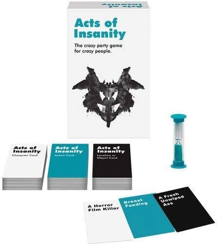 <p>Prepare to laugh like crazy when playing <span>Acts of Insanity</span> ($21).</p>