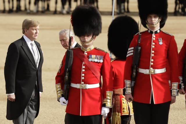 King Willem Alexander state visit to UK
