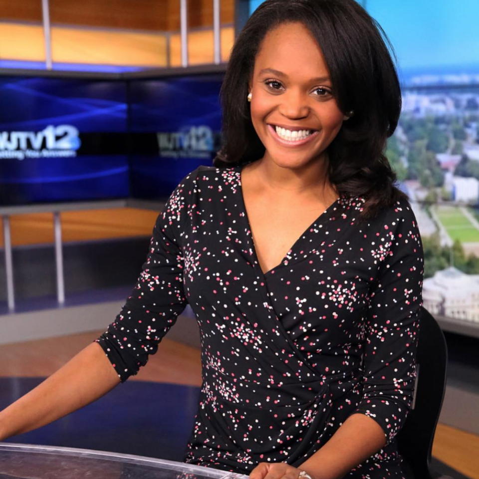 Former news anchor Brittany Noble-Jones says she was discriminated against and fired from her job at WJTV in Mississippi. (Photo: Instagram/The Noble Journalist)
