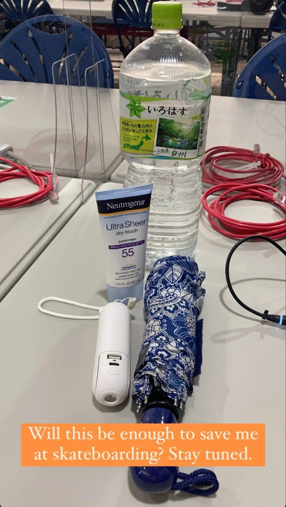 A reporter's essentials when covering an outdoor event in the heat