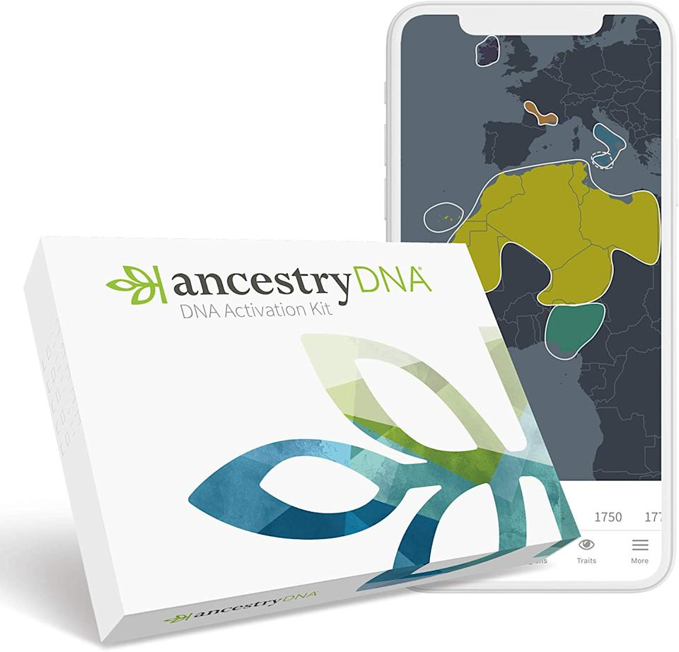 Save $60 AncestryDNA: Genetic Ethnicity Test. Image via Amazon.