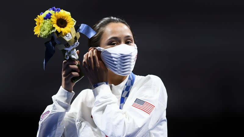 Fencing - Women's Individual Foil - Medal Ceremony