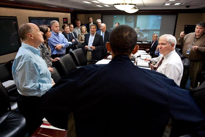 "FILE – In this May 1, 2011, file photo released by the White House, President Barack Obama talks with members of the his national security team in the White House Situation Room during one in a series of meetings to discuss the mission against Osama bin Laden. As the world now knows well Obama ultimately decided to launch the raid on the Abbottabad compound that killed bin Laden, though faced with a level of widespread skepticism from a veteran intelligence analyst, skepticism shared with other top-level officials, which nearly scuttled the raid. That process reflected a sea change within the U.S. spy community, one that embraces debate to avoid ""slam-dunk"" intelligence in tough national security decisions. (AP Photo/The White House, Pete Souza, File)"