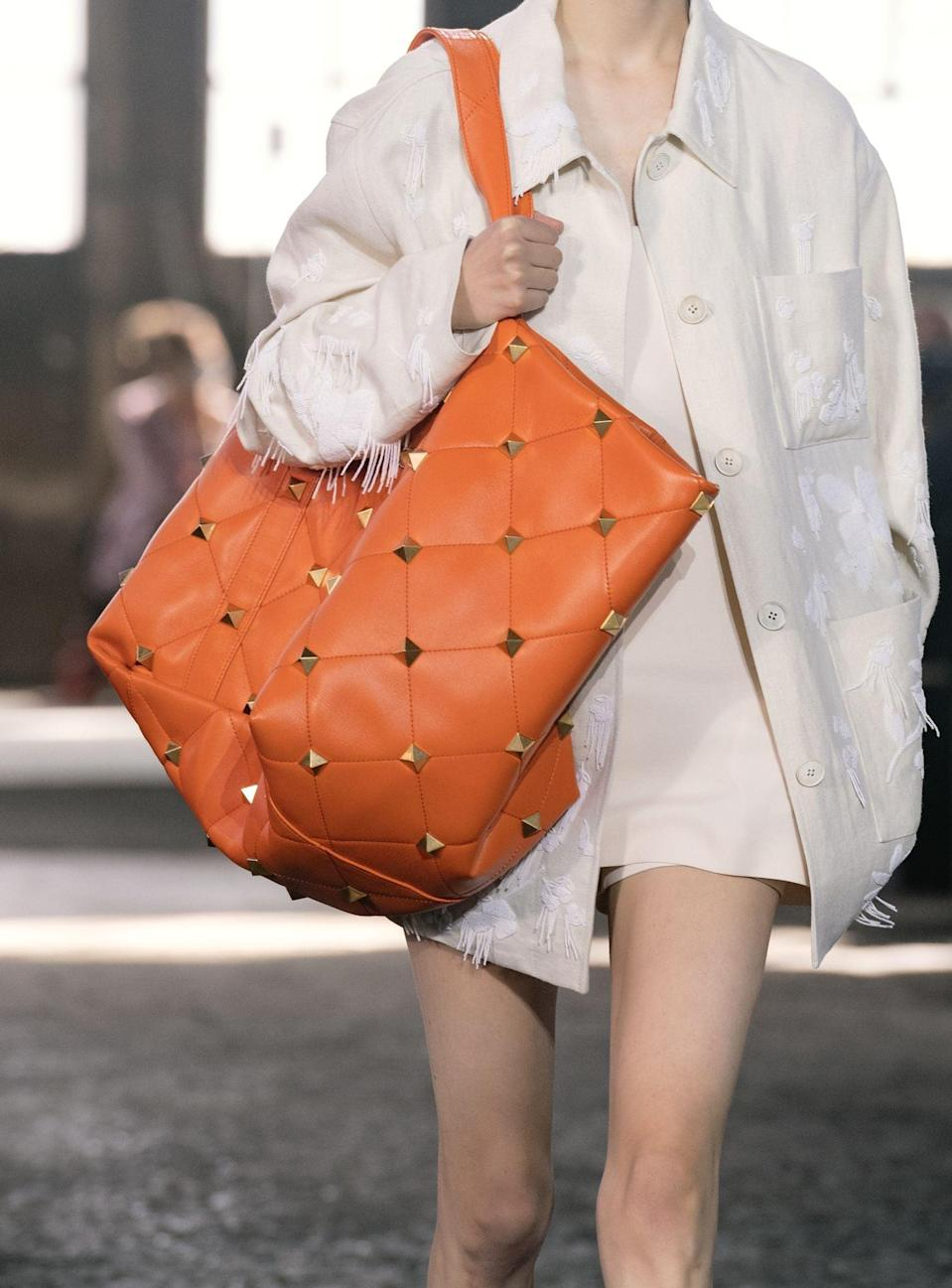 <p>A bag from the Valentino spring/summer 2021 runway.</p>