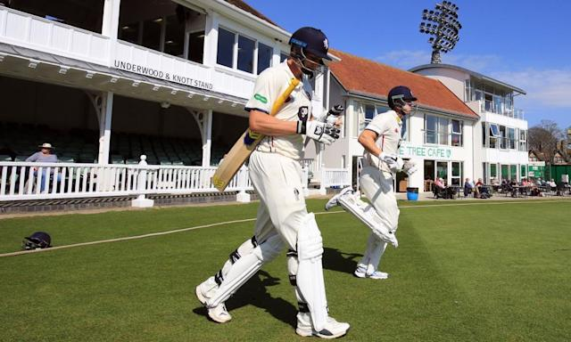 "<span class=""element-image__caption"">Will Gidman, left, is among Kent's arrivals as they look to improve on last season's third place.</span> <span class=""element-image__credit"">Photograph: Gareth Fuller/PA</span>"
