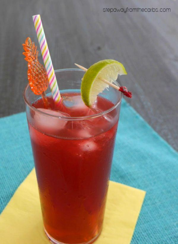 """<p>If you can't get away, make this tropical drink from<a href=""""https://stepawayfromthecarbs.com/keto-mai-tai/"""" rel=""""nofollow noopener"""" target=""""_blank"""" data-ylk=""""slk:Step Away from the Carbs."""" class=""""link rapid-noclick-resp""""> Step Away from the Carbs.</a> It's perfect for a festive day at the pool and a single drink contains just 50 calories and less than one gram of carbohydrates. </p>"""