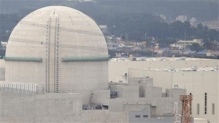 The new Shin Kori No. 3 reactor of state-run utility Korea Electric Power Corp (KEPCO) is seen in Ulsan, about 410 km (255 miles) southeast of Seoul, September 3, 2013. REUTERS/Lee Jae-Won