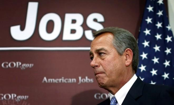 """""""The Conservative Movement is capable of firing Boehner with just 16 votes,"""" insists the right-wing American Majority Action group."""