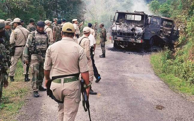 Maharashtra: Naxals attack security force's mine protected vehicle, 12 injured
