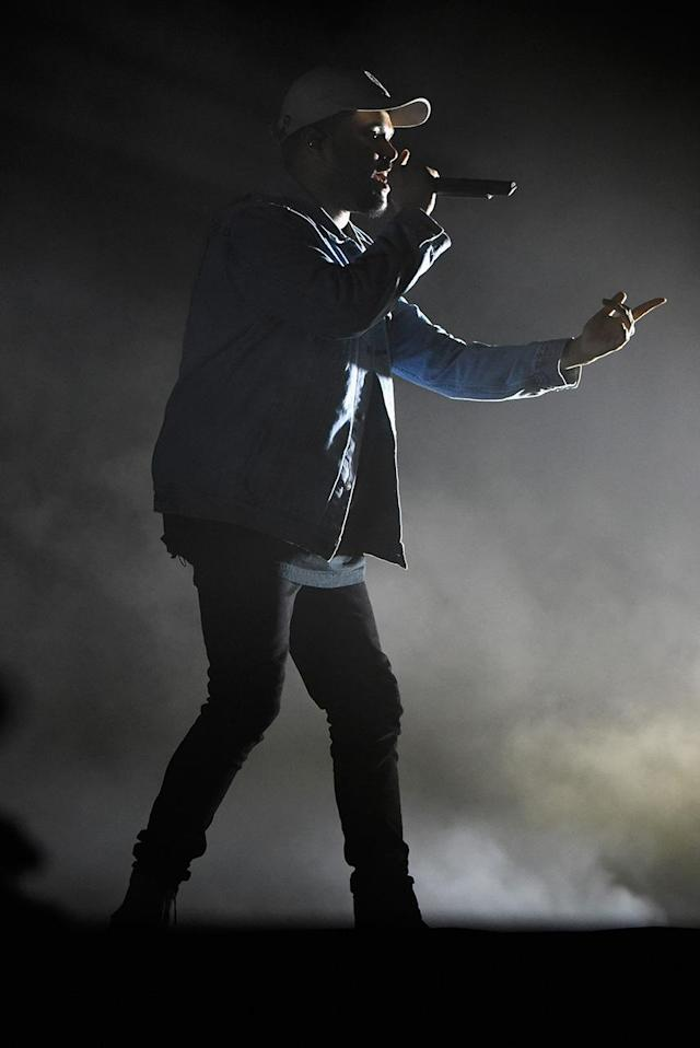 <p>The Weeknd performs onstage during the 2017 Firefly Music Festival on June 17, 2017 in Dover, Delaware. (Photo by Kevin Mazur/Getty Images for Firefly) </p>