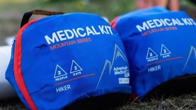 A medical kit is a must-have on every camping trip.