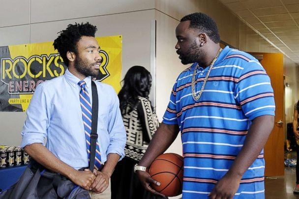 PHOTO: Donald Glover and Brian Tyree Henry appear in a scene from 'Atlanta.' (FX Networks)