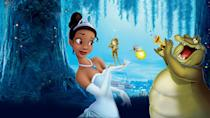 """<p>disneyplus.com</p><p><a href=""""https://go.redirectingat.com?id=74968X1596630&url=https%3A%2F%2Fwww.disneyplus.com%2Fmovies%2Fthe-princess-and-the-frog%2F7TPAcC8QPGpm&sref=https%3A%2F%2Fwww.countryliving.com%2Flife%2Fentertainment%2Fg30875475%2Fkids-movies-disney-plus%2F"""" rel=""""nofollow noopener"""" target=""""_blank"""" data-ylk=""""slk:STREAM NOW"""" class=""""link rapid-noclick-resp"""">STREAM NOW</a></p><p>Tiana and Prince Naveen will delight you, as will all the beautiful animated imagery of Louisiana. </p>"""