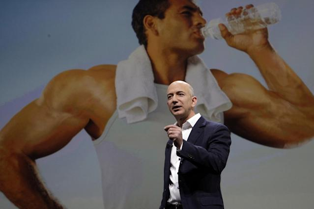 <p>No. 8 (tie): Amazon CEO Jeff Bezos<br>CEO approval rating: 95 per cent<br>(Business Insider) </p>