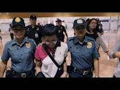 """<p>In 2018, Maria Ressa, a Filipino-American journalist and cofounder of Rappler, a Manila-based investigative news website, <a href=""""https://www.pbs.org/wgbh/frontline/interview/maria-ressa/"""" rel=""""nofollow noopener"""" target=""""_blank"""" data-ylk=""""slk:told PBS Frontline"""" class=""""link rapid-noclick-resp"""">told PBS Frontline</a> about how the government in the Philippines had created a massive propaganda machine to spread misinformation on Facebook, drowning out factual reporting from Ressa and others on corruption and crimes perpetrated by the authoritarian regime of President Rodrigo Duterte. """"It's death by a thousand cuts,"""" she said. A version of that quote is now the title of a documentary by Filipino-American documentarian Ramona S. Diaz, premiering at Sundance this year. The film takes viewers behind the scenes with Ressa as she documents abuses of power and fights for the truth, even when doing so gets her thrown in jail. Prepare to be inspired.</p><p><a href=""""https://youtu.be/Gy_gWR0dEpY"""" rel=""""nofollow noopener"""" target=""""_blank"""" data-ylk=""""slk:See the original post on Youtube"""" class=""""link rapid-noclick-resp"""">See the original post on Youtube</a></p>"""