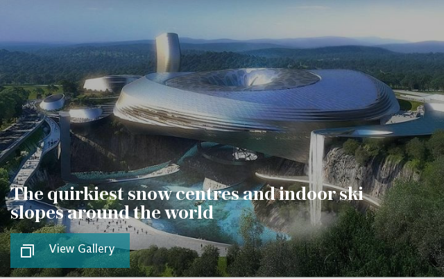 The coolest snow centres and indoor ski slopes