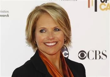 Katie Couric to Host Online Talk Show on Yahoo