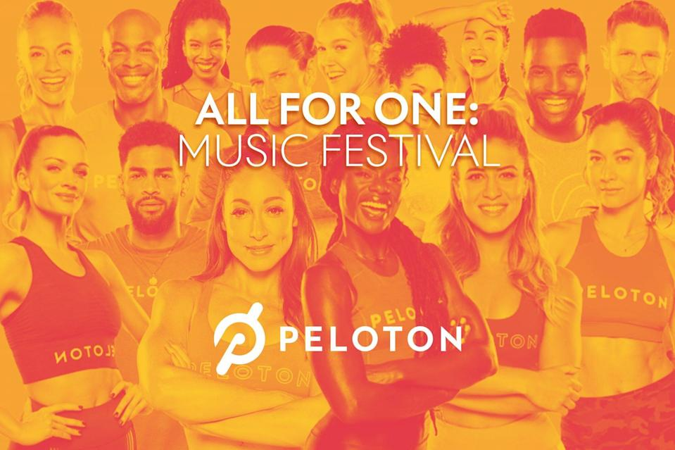 You'll-Definitely-Want-to-Tune-Into-Peloton's-All-For-One-Music-Festival-This-Weekend