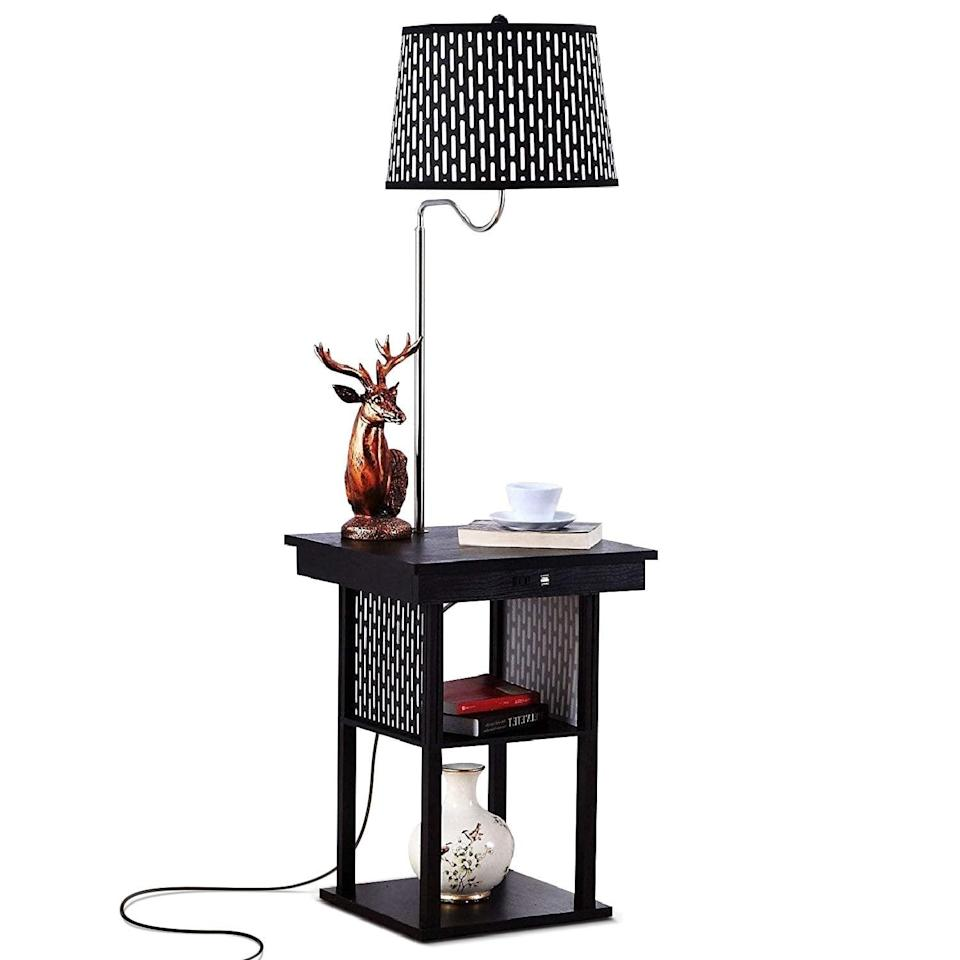<p>Get a side table and a lamp all in one with this <span>Brightech Madison LED Floor Lamp With USB Charging Ports</span> ($115, originally $138). It's a great solution to two problems.</p>