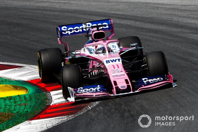 "Sergio Perez, Racing Point RP19 <span class=""copyright"">Andrew Hone / Motorsport Images</span>"