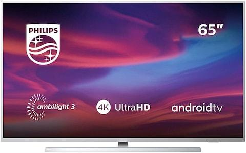 Philips 65PUS7304/12 65-Inch 4K UHD Android Smart TV with Ambilight