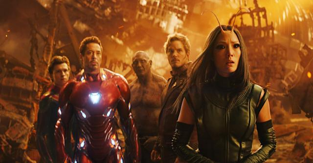 The Avengers assemble — for the last time?— in <em>Infinity War.</em> (Photo: Marvel/Walt Disney Studios Motion Pictures /Courtesy of Everett Collection)