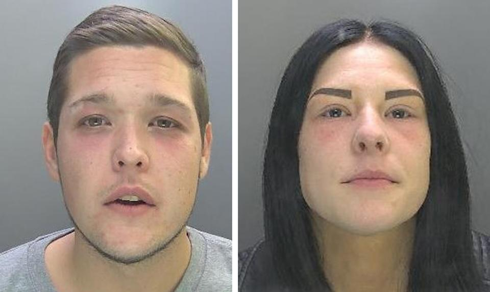 Kane Mitchell and Lucci Smith have been sentenced over Teddie's death. (PA/Cambridgeshire Police)