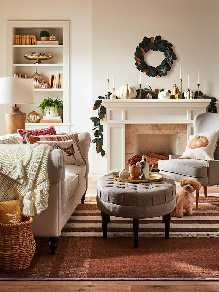 "<p><a href=""https://www.housebeautiful.com/shopping/g26930057/target-home-collection-spring-2019/"" target=""_blank"">Target</a> has officially released its new <a href=""https://www.target.com/c/fall-decorations/-/N-1kw7j?Nao=48"" target=""_blank"">fall home decor collections</a> for 2019, and they're seriously giving me all the cozy autumn vibes. With well-known brands like Joanna Gainses's Hearth & Hand, Opalhouse, Threshold, and <a href=""https://www.housebeautiful.com/shopping/a25834179/leanne-ford-target-project-62-collection/"" target=""_blank"">Project 62</a>, you'll be sure to find your personal fall aesthetic among the hundreds of fun decor options.</p><p>""Fall is about returning to the heart of the home. It's a chance to reconnect, unwind and wrap those we love in a warm embrace,"" says Jill Sando, Target senior vice president and general merchandise manager, Apparel and Accessories and Home. ""We've designed our fall Home assortment to help guests create relaxing, cozy backdrops for making memories together. From light woods and earthy pink and warm orange palettes to cozy textiles, classic plaids and woven tweed, our guests can mix, match and layer their favorite pieces to bring an inviting, affordable touch of fall to every room of their home.""</p><p>Check out our picks below to give your home the ultimate fall refresh.</p>"