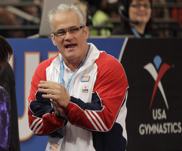 John Geddart, gymnastics coach and friend of Larry Nassar, has been accused of physically abusing gymnasts, and is now under criminal investigation. (AP Photo)
