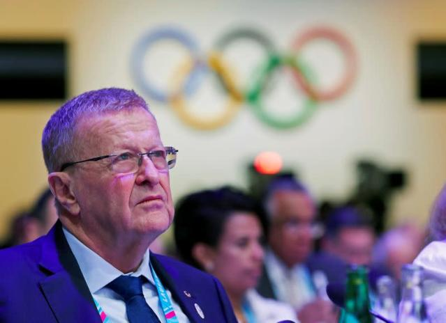 IOC Member Coates attends the 135th Session in Lausanne