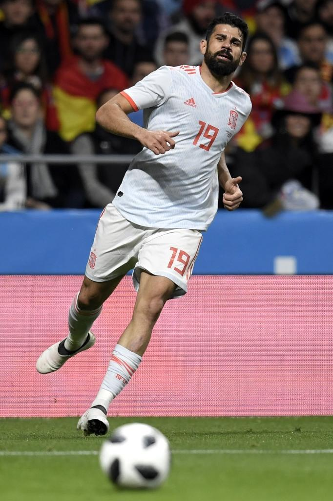 Diego Costa had not played for Spain for nine months prior to this call-up (AFP Photo/GABRIEL BOUYS )