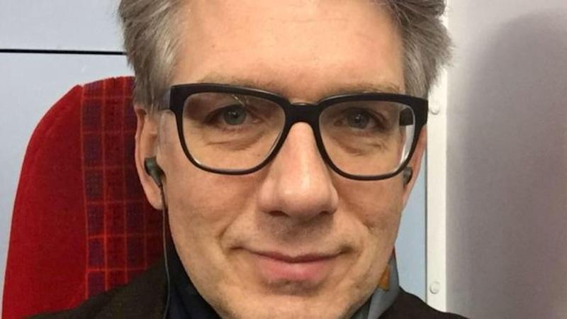 Eric Michels who was found dead at his home in south West London after meeting Mavrou for sex vid the Grindr app.