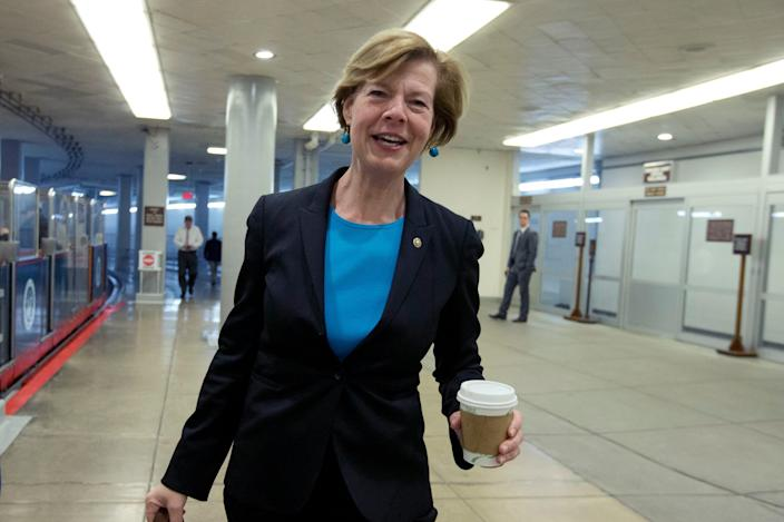Democrat Tammy Baldwin is a senator of Wisconsin, a state Democrats need in November.