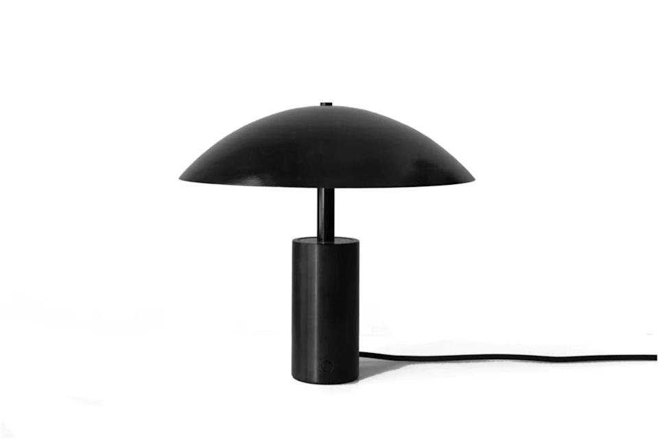 """$850, The Primary Essentials. <a href=""""https://theprimaryessentials.com/collections/new-arrivals/products/in-common-with-arundel-low-table-lamp"""" rel=""""nofollow noopener"""" target=""""_blank"""" data-ylk=""""slk:Get it now!"""" class=""""link rapid-noclick-resp"""">Get it now!</a>"""