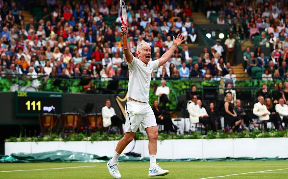 John McEnroe yells 'You cannot be serious' - GETTY IMAGES