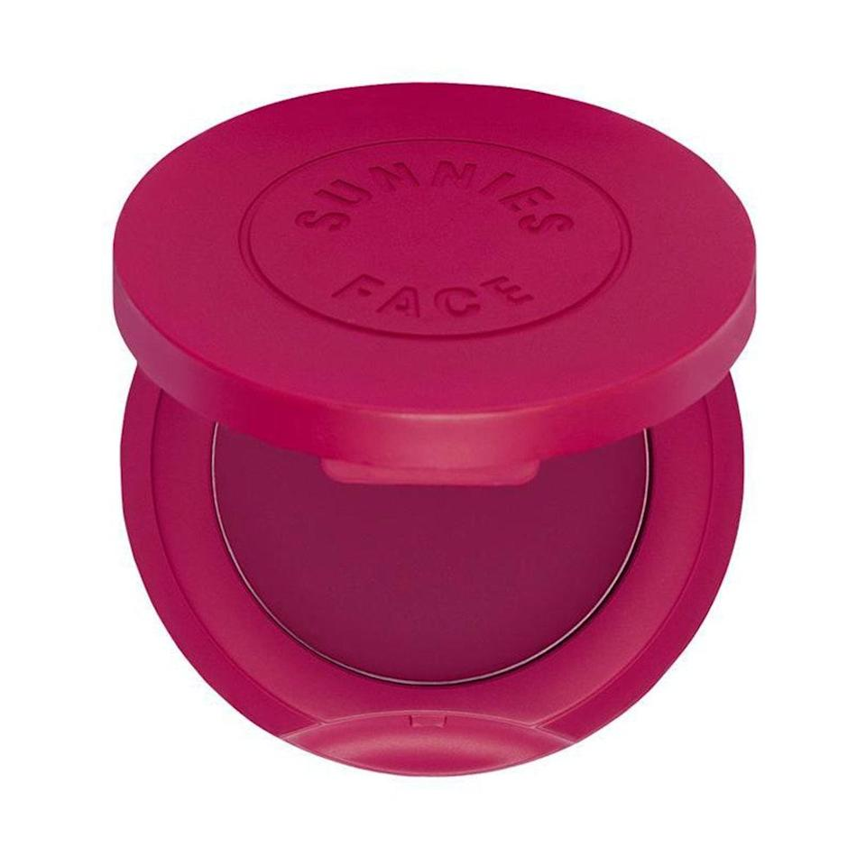 """<p><strong>Berry</strong></p> <p>Daphne Chantell del Rosario calls out Sunnies Face Airblush as one of her favorite cream blushes of all time, and the Razz shade specifically for medium and dark skin tones. It looks very bright in the pan, but she's drawn to this formula for its sheer finish that can be easily layered for more intense pigment — making it a great day-to-night option.</p> <p><strong>$10</strong> (<a href=""""https://www.sunniesface.com/makeup/airblush/?c=SF005-06#:~:text=Airblush%20is%20a%20soft-focus,want%20a%20little%20extra%20color."""" rel=""""nofollow noopener"""" target=""""_blank"""" data-ylk=""""slk:Shop Now"""" class=""""link rapid-noclick-resp"""">Shop Now</a>)</p>"""