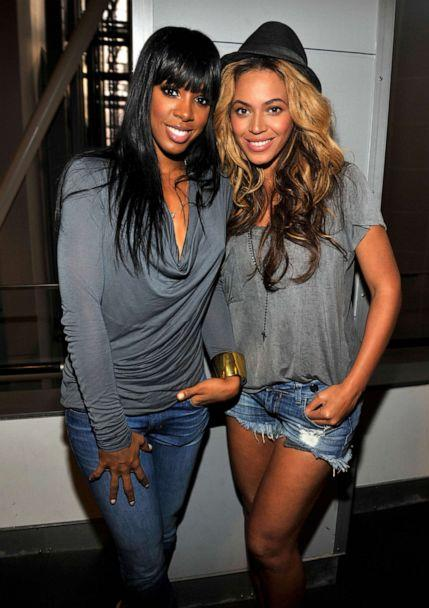 PHOTO: Kelly Rowland and Beyonce attend the exclusive listening event for Jay-Z and Kanye West,'Watch The Throne' at the American Museum of Natural History, Aug. 1, 2011, in New York City. (Kevin Mazur/WireImage/Getty Images, FILE )