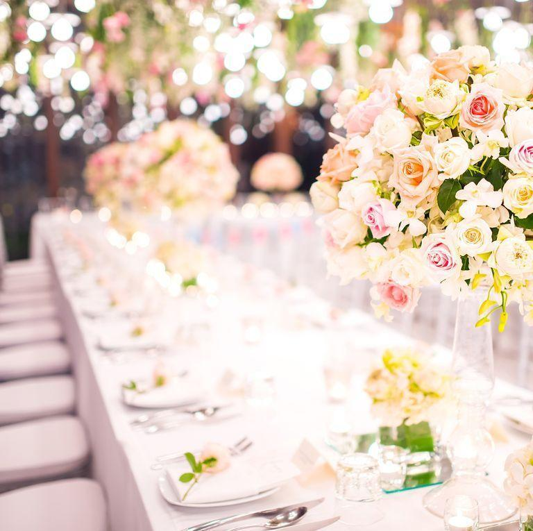 """<p>It's a fact that weddings are insanely expensive but it's not your job to play detective all night and figure out how much it costs. """"The venue is spectacular, the <a href=""""https://www.goodhousekeeping.com/home/gardening/g4348/summer-flowers/"""" rel=""""nofollow noopener"""" target=""""_blank"""" data-ylk=""""slk:flowers to-die-for"""" class=""""link rapid-noclick-resp"""">flowers to-die-for</a>, and the bar top of the line, but to openly speculate on the costs is trés gauche,"""" says Jodi Smith, founder of <a href=""""http://www.mannersmith.com/"""" rel=""""nofollow noopener"""" target=""""_blank"""" data-ylk=""""slk:Mannersmith Etiquette Consulting"""" class=""""link rapid-noclick-resp"""">Mannersmith Etiquette Consulting</a>. """"Instead enjoy the fact you have been invited to such a fabulous affair and leave it at that.""""</p>"""