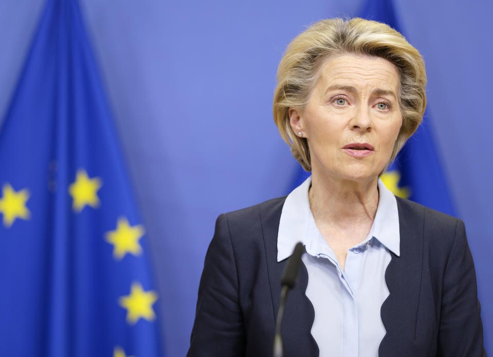 European Commission president Ursula von der Leyen. Photo: Thierry Monasse/Getty Images