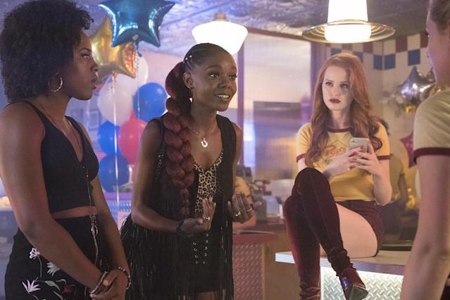 The hair and makeup looks on <em>Riverdale</em> have a deeper meaning than you probably realized. (Photo: Bettina Strauss/The CW/Everett)