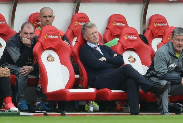 Moyes endured a difficult season at the Stadium of Light that ended in relegation