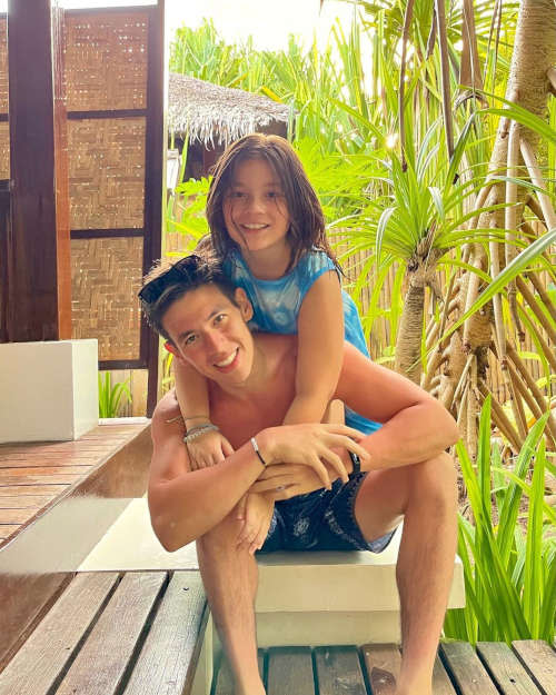 Jake co-parents his daughter with former partner Andi Eigenmann.